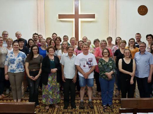 Cerimônia de Encerramento do Curso Espiritualidade e Edificação de Igrejas em Limeira