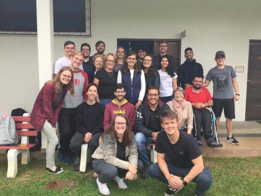 Ministério de ensino religioso na APAE em Blumenau compartilha experiências com alunos da FLT