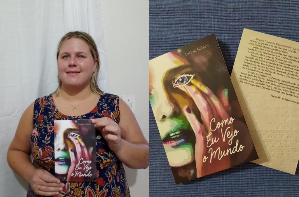 Estudante da FLT publica livro de poesias